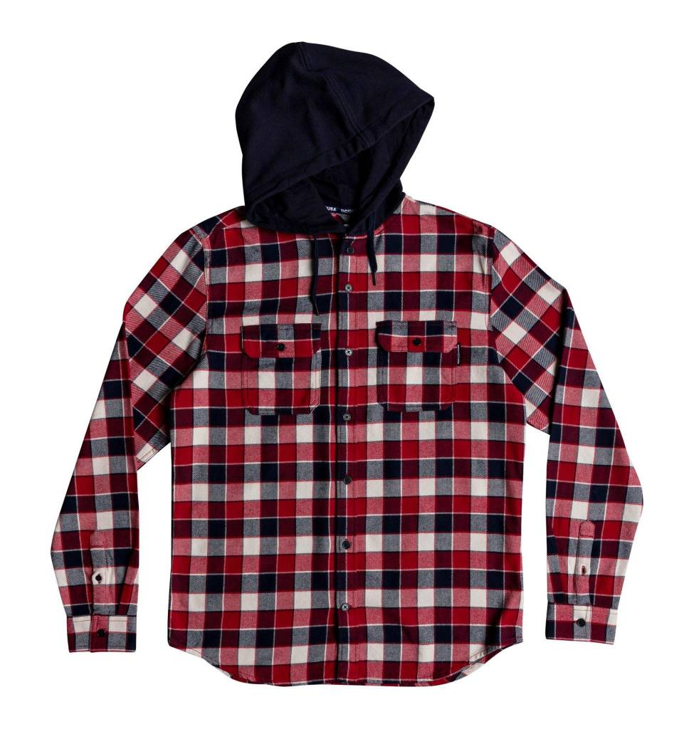 DC SHOES DC SHOES - RUNNELS SHIRT HOOD