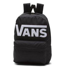 VANS VANS - OLD SKOOL BACKPACK BLACK WHITE LOGO