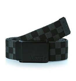 VANS VANS - DEPPSTER WEB BELT BLACK/CHARCOAL