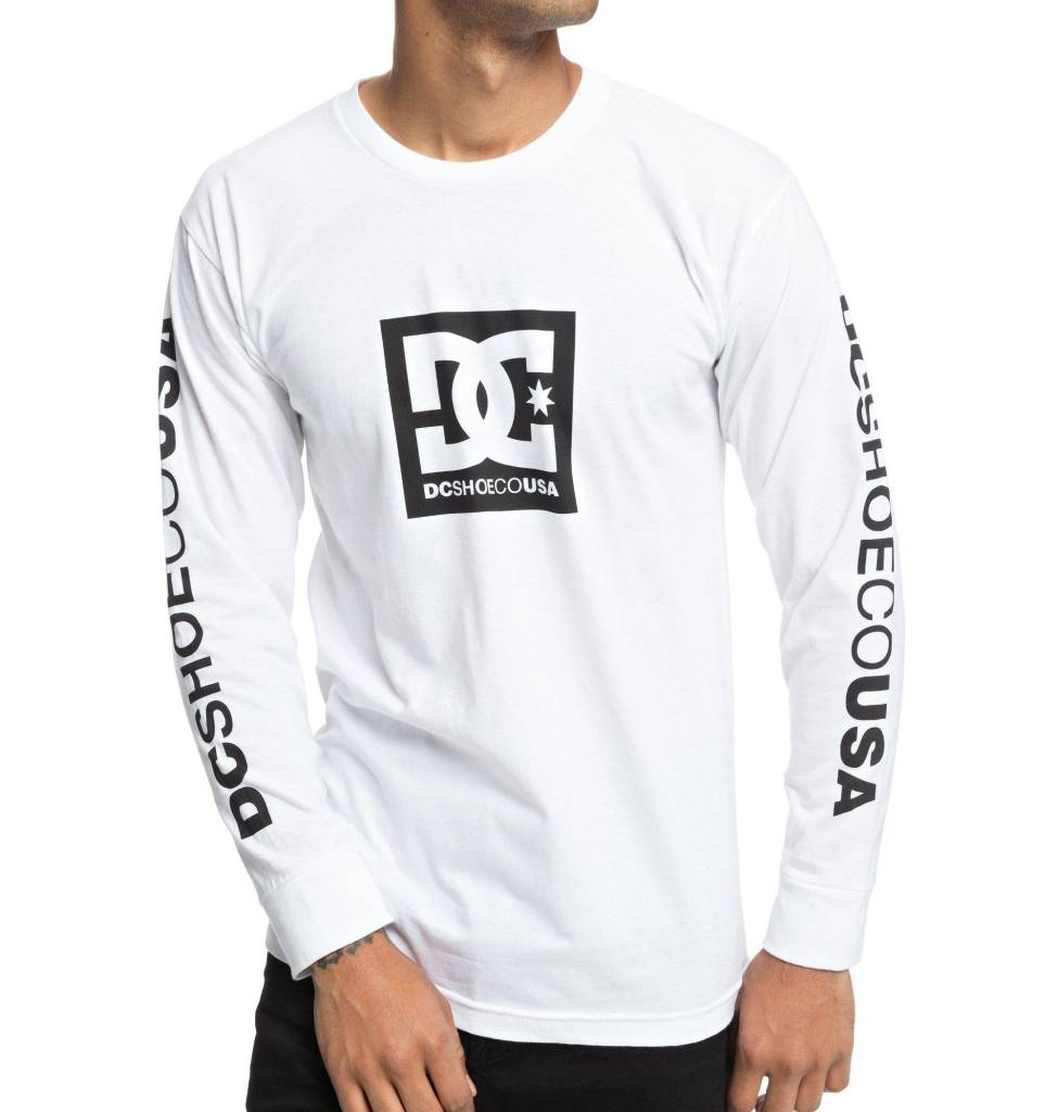 DC SHOES DC SHOES - SQUARE STAR L/S TEE