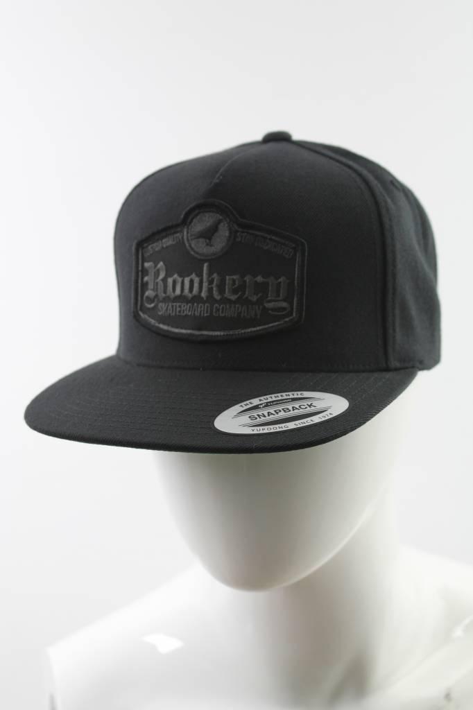 ROOKERY ROOKERY - GOTHIC SNAPBACK CAP