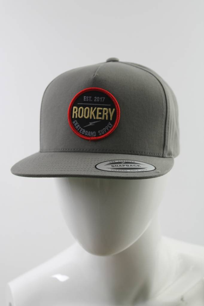 ROOKERY ROOKERY - CIRCLE PATCH SNAPBACK CAP