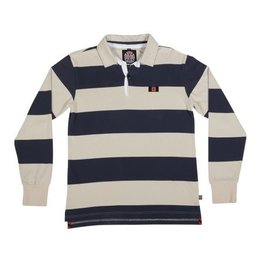 INDEPENDENT - RUGBY SCRUM L/S POLO