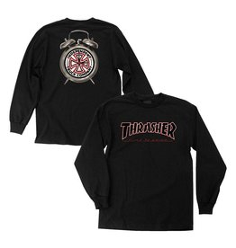 INDEPENDENT - THRASHER TIME TO GRIND L/S TEE