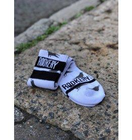 ROOKERY ROOKERY - ALL OVER WHITE SOCKS