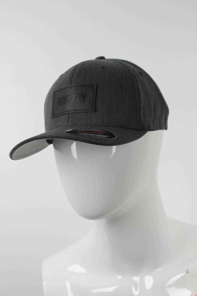 ROOKERY ROOKERY - LEATHER PATCH FLEXFIT CAP