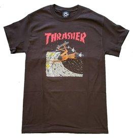 THRASHER THRASHER - NECKFACE INVERT TEE