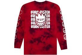 HUF HUF - SPITFIRE BURN FASTER L/S