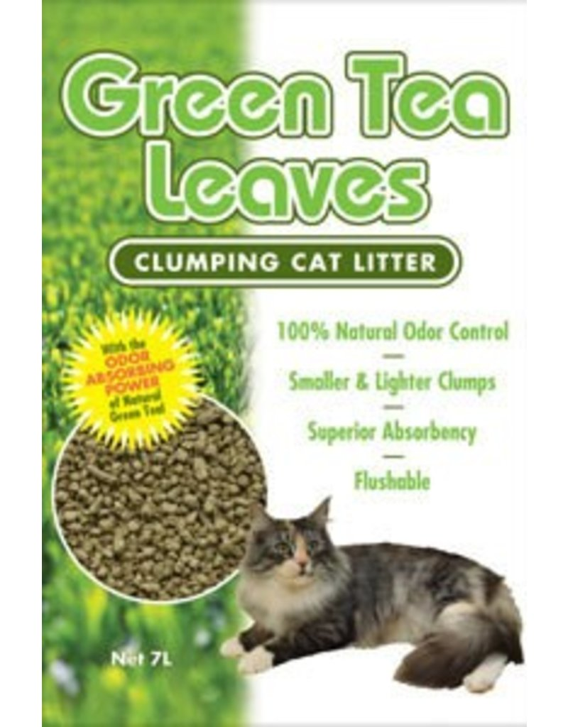 Green Tea Cat Litter 10 Liter