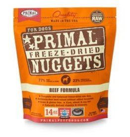 Primal Freeze-Dried Beef Dog Food, 5.5oz