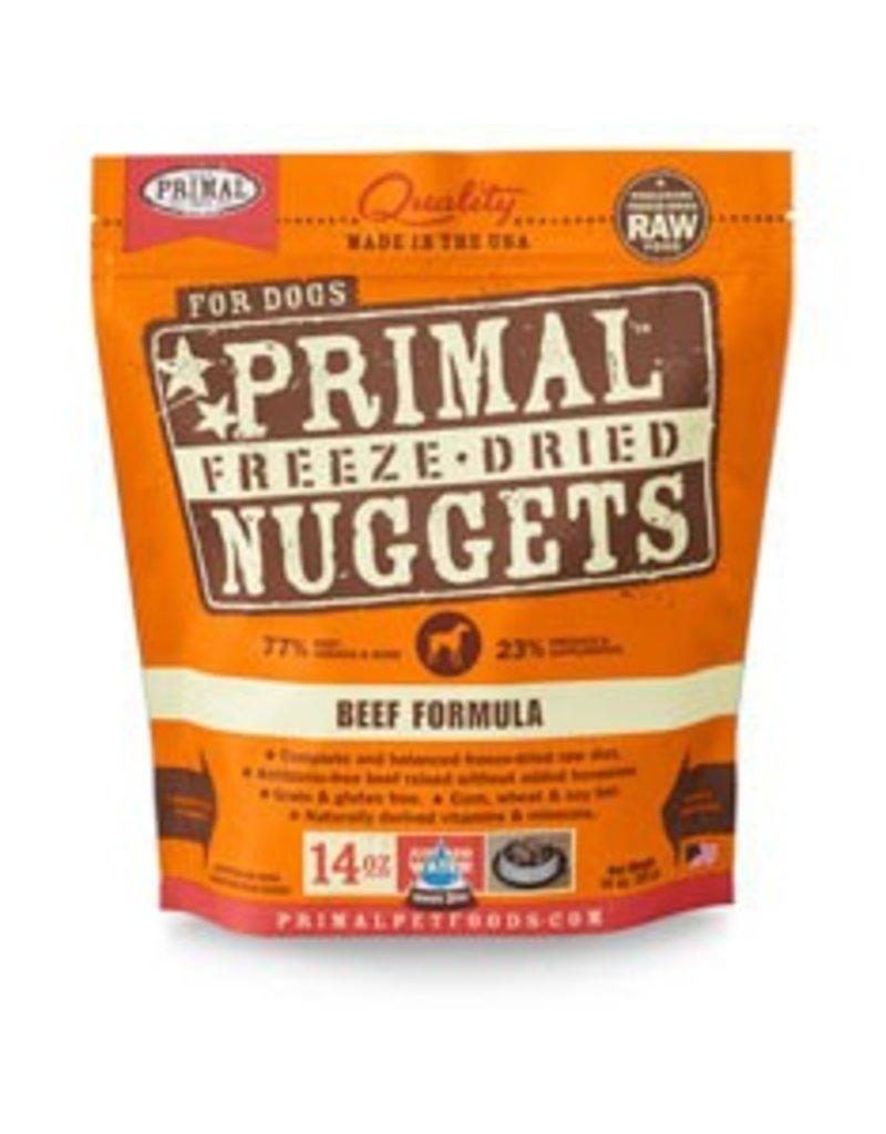 Primal Freeze-Dried Beef Dog Food, 5.5oz
