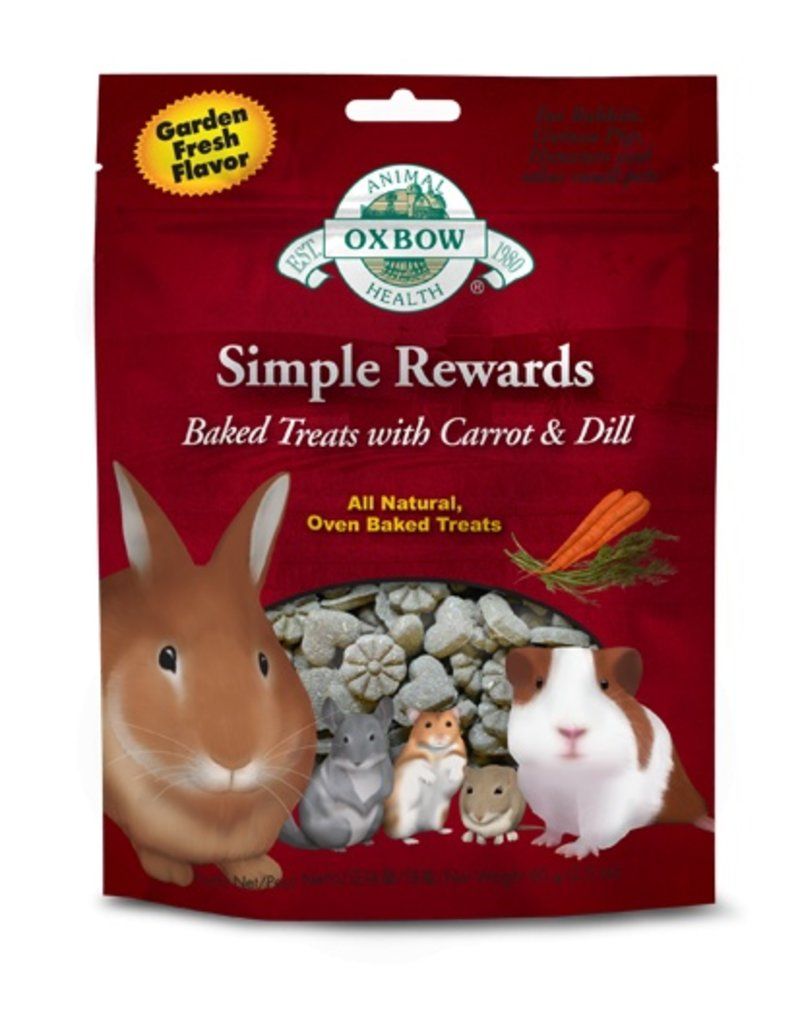 Oxbow Simple Rewards Carrot/Dill