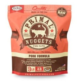 Primal Raw Pork Cat Food 3lb