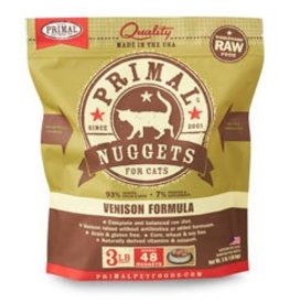 Primal Raw Venison Cat Food, 3lb