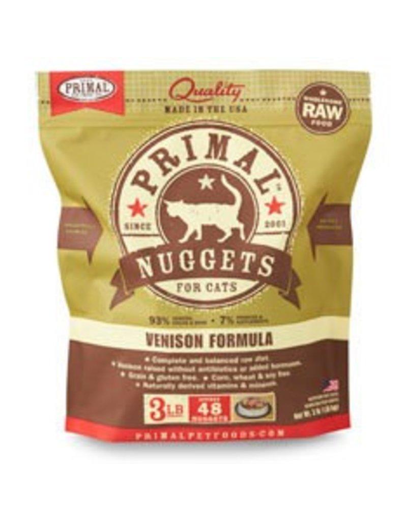 Primal Raw Venison Cat Food, 3lb