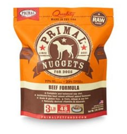 Primal Raw Beef Dog Food 3 lb