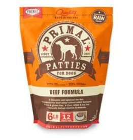 Primal Raw Beef Dog Food 6 lb
