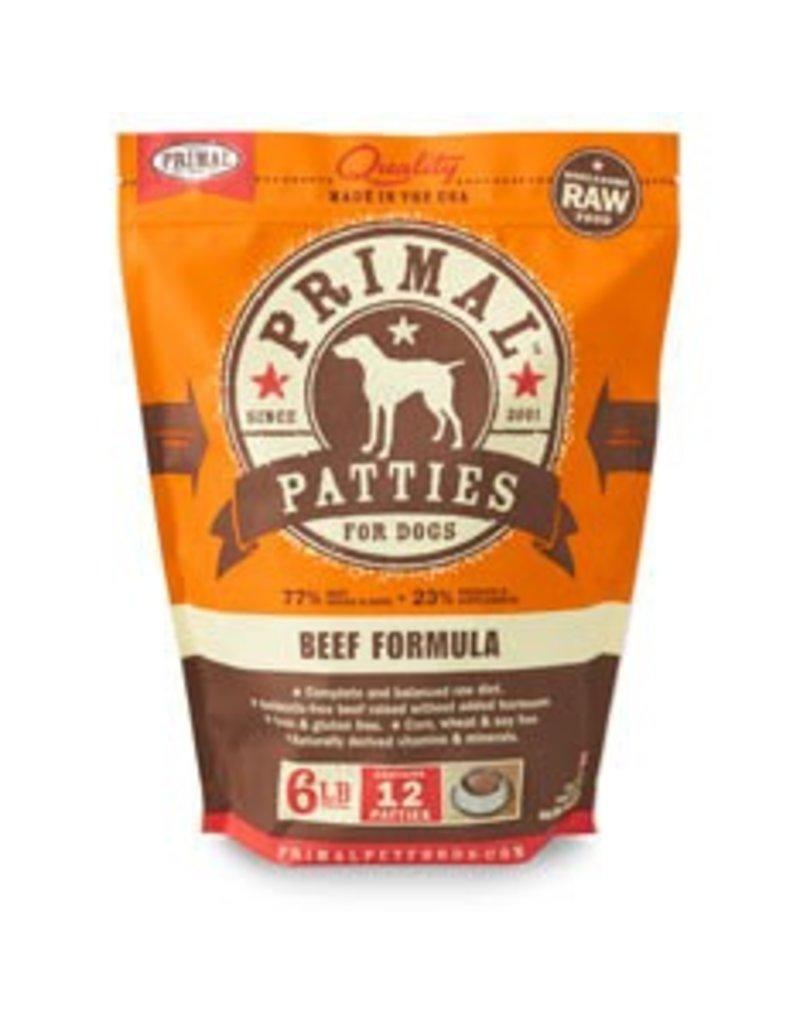 Primal Raw Beef Dog Food 6 lb