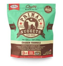 Primal Raw Chicken Dog Food 3 lb