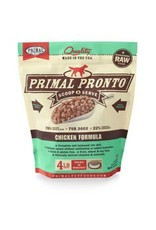 Primal Raw Pronto Chicken Dog Food 4lb