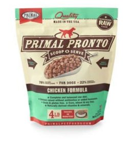 Primal Raw Pronto Chicken Dog Food 4lb