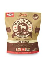 Primal Raw Lamb Dog Food 3 lb