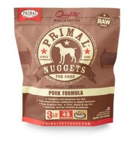 Primal Raw Pork Dog Food 3 lb