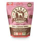 Primal Raw Turkey Dog Food 6 lb