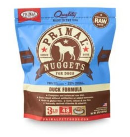 Primal Raw Duck Dog Food 3 lb