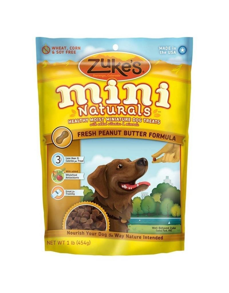 Zuke's Mini Natural Peanut 1lb