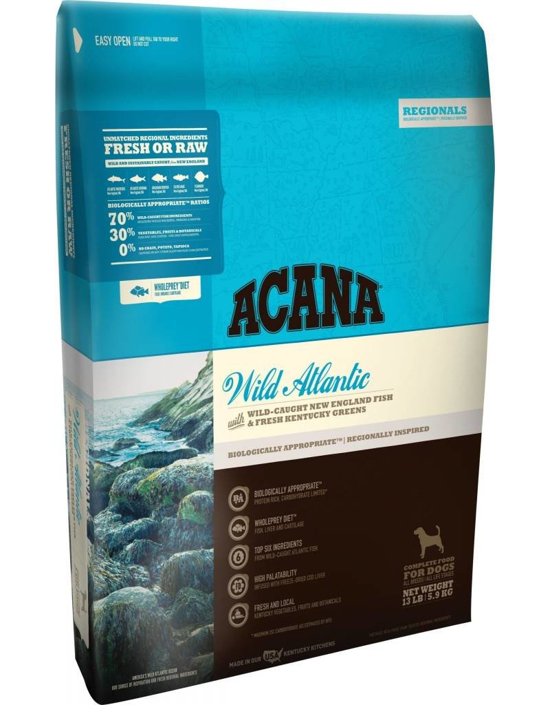 Acana Wild Atlantic Dry Dog Food 13lb