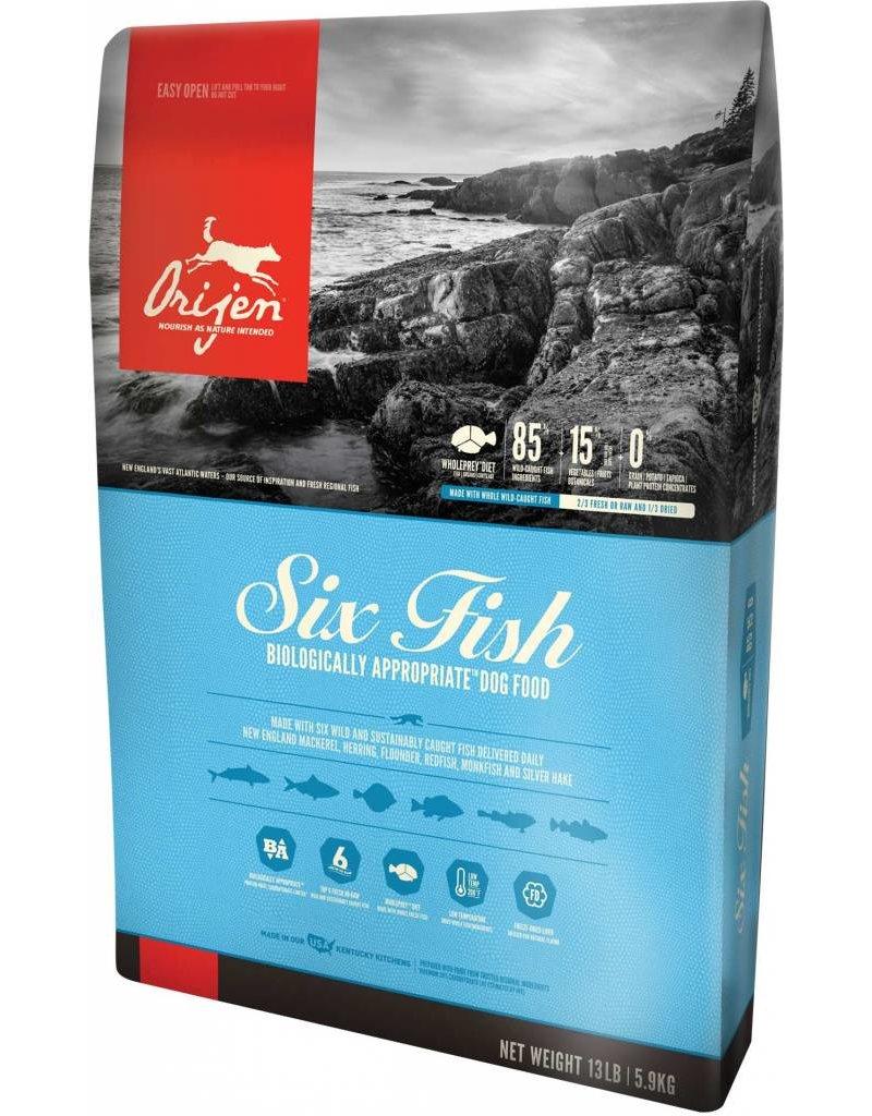 Orijen Six Fish Dog US 25lb