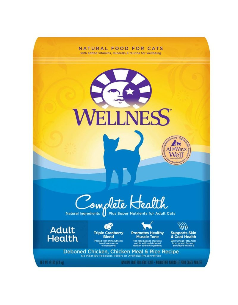 Wellness Complete Health Adult Dry Cat Food 40oz