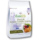 PureVita Grain-free Duck & Lentil Dry Dog Food 5lb