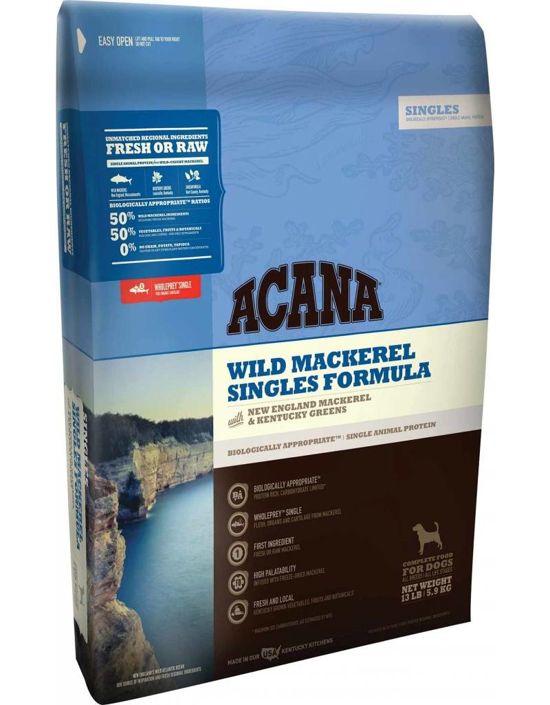 Acana Wild Mackerel Dry Dog Food 12oz