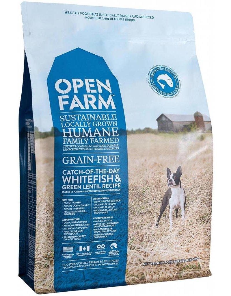 Open Farm Whitefish Dog Food 24lb