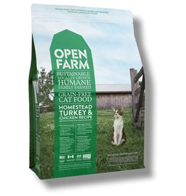Open Farm Turkey & Chicken Cat Food 4lb