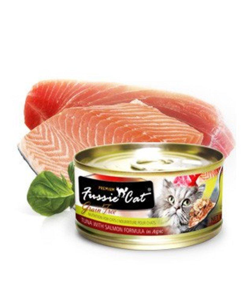 Fussie Cat Tuna w/Salmon 2.8oz (24/pk)