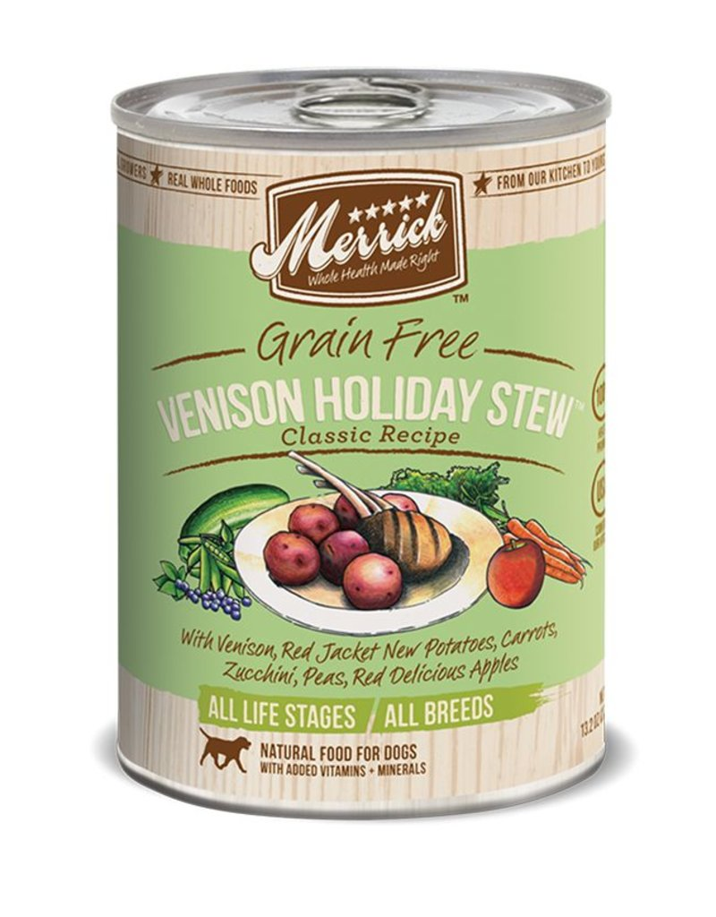 Merrick Venison Holiday Stew 13oz