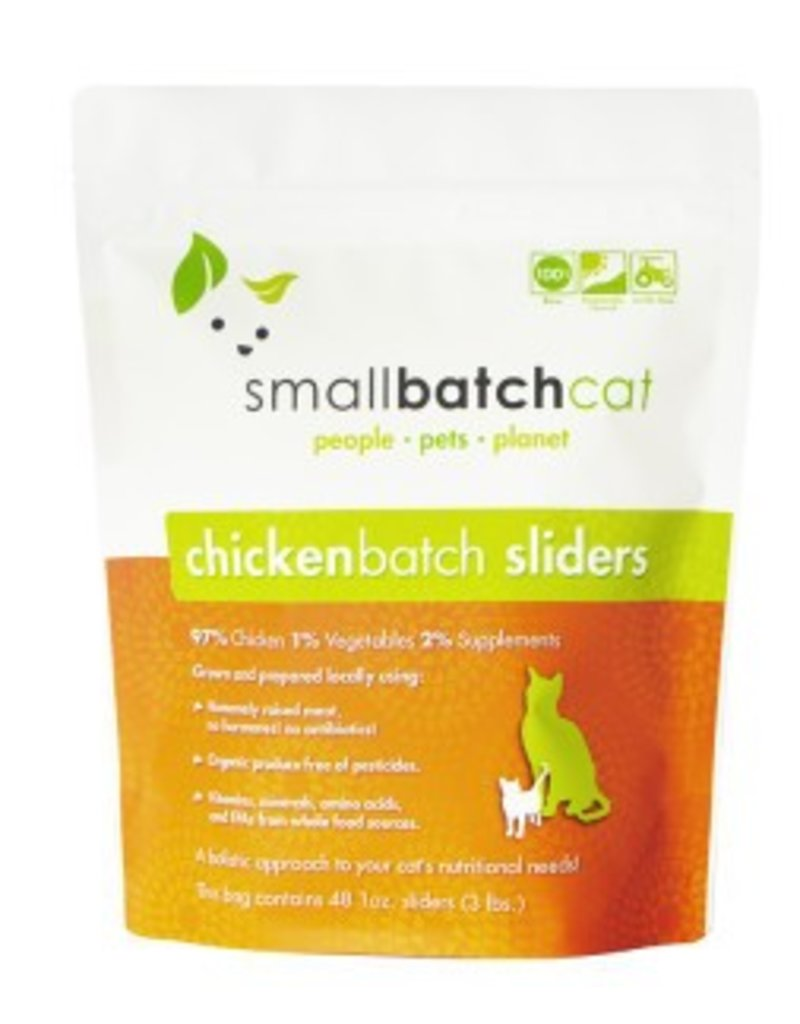 Small Batch Raw Chicken Cat Food 3lb