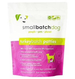 Small Batch Raw Turkey Dog Food 3lb