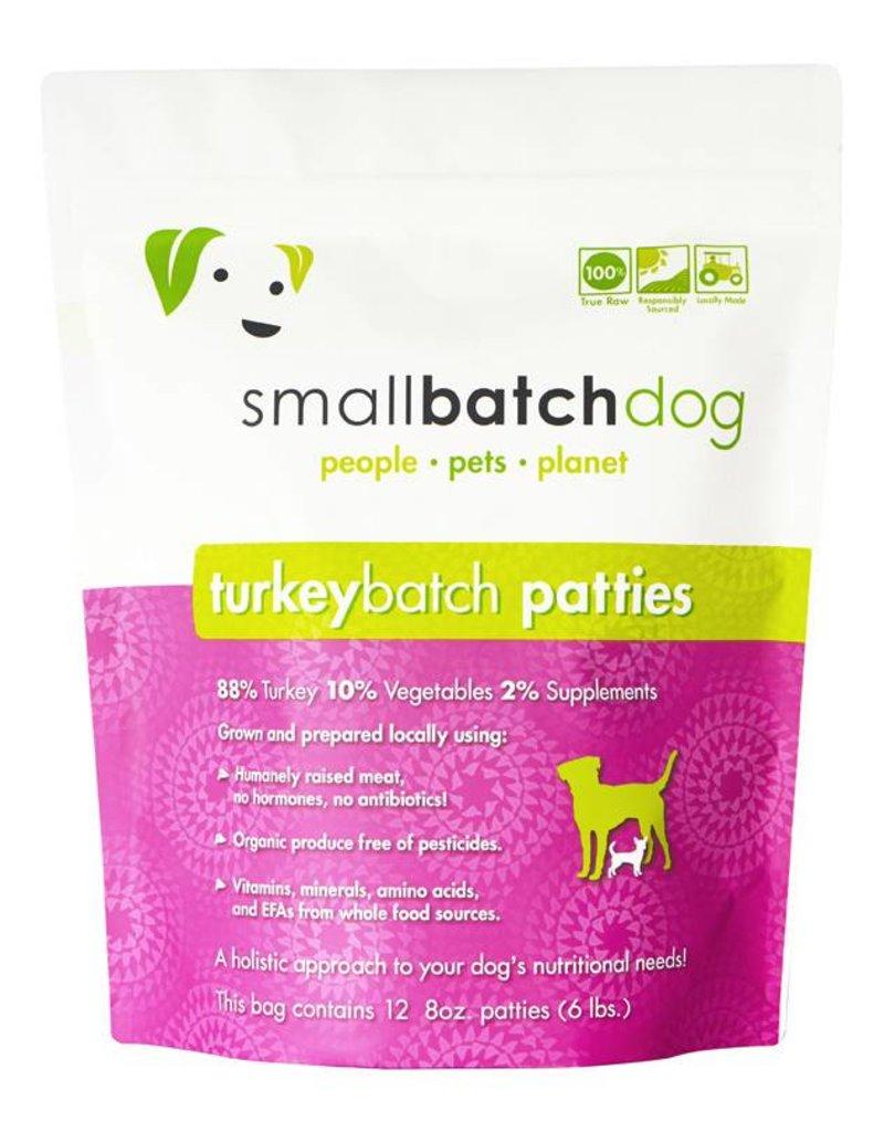 Small Batch Raw Turkey Dog Food 6lb