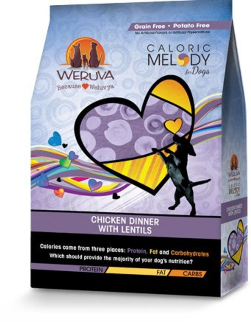 Weruva Caloric Melody Chicken & Lentils 12lb