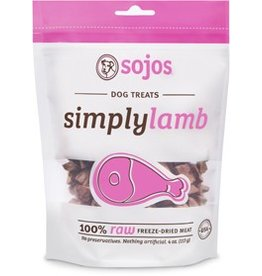 Sojos Simply Lamb Treats, 4oz