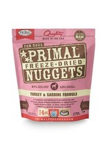 Primal Frz Dried Turkey & Sardine Food, 14oz