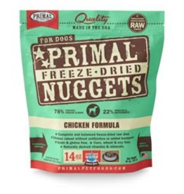 Primal Freeze Dried Chicken Dog Food, 14oz