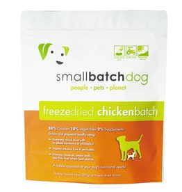 Small Batch Freeze Dried Chicken Dog Food 14oz