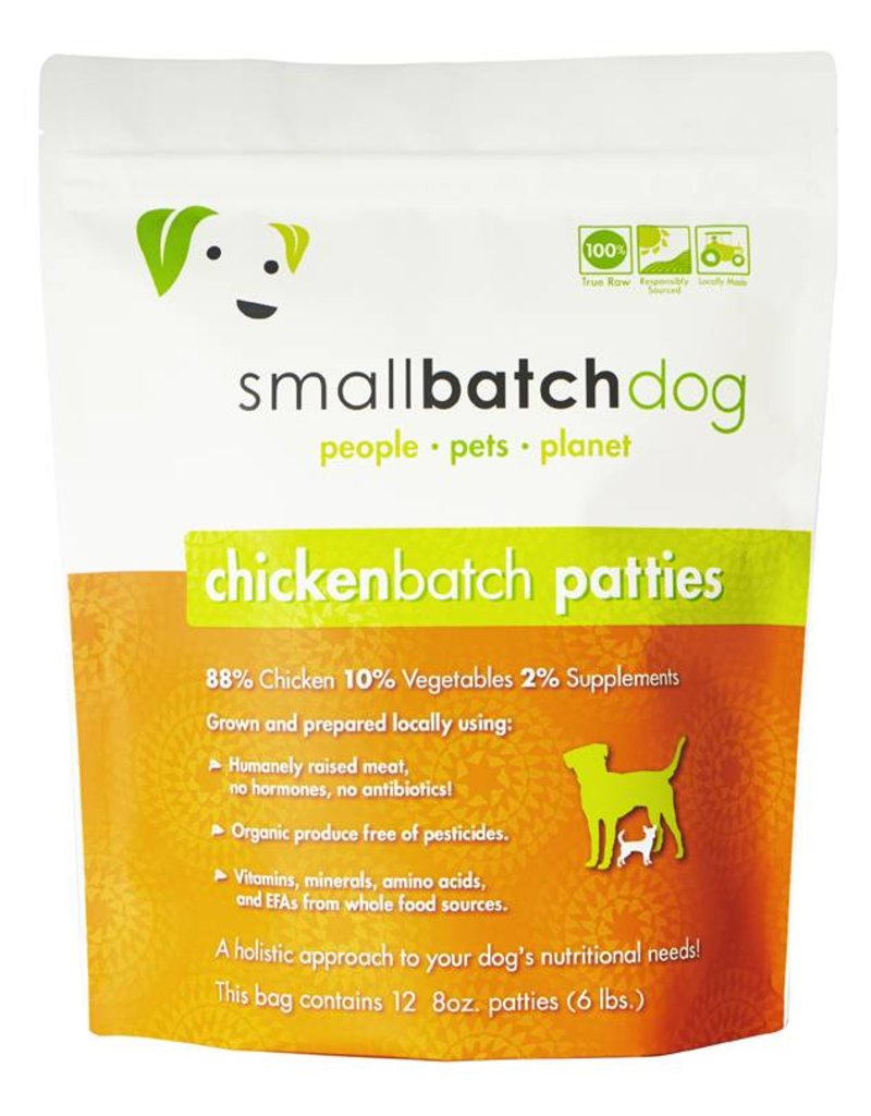 Small Batch Raw Chicken Dog Food 18lb