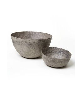 Far & Wide Collective Medium Solid Grey Pulp Bowl