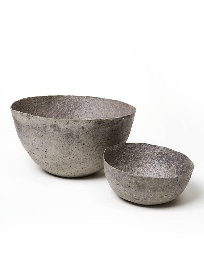 Far & Wide Collective Medium Solid Grey Pulp Bowl